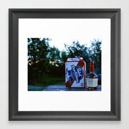 Beer & Whiskey - Alaska Framed Art Print