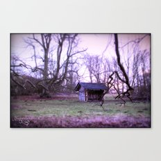 the begining Canvas Print