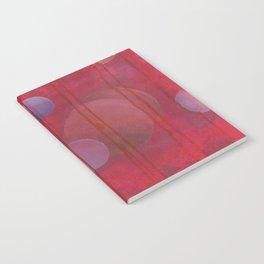 reddish sphere Notebook