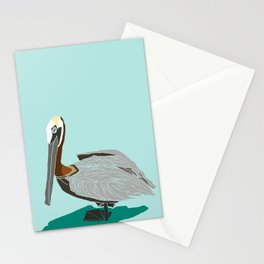 Mr. Pelican Stationery Cards