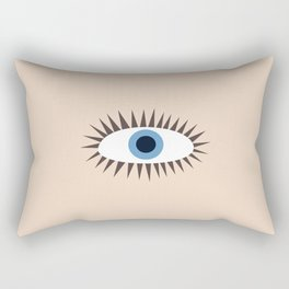 Big Eye Illustration Rectangular Pillow