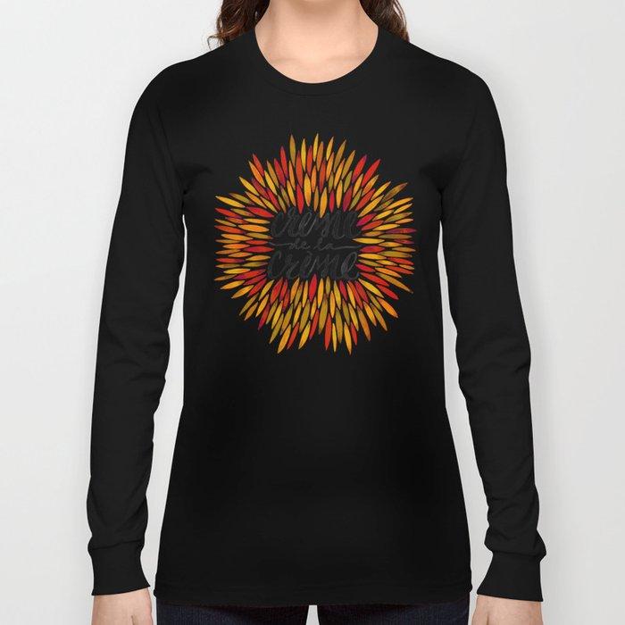Crème de la Crème – Autumn Palette Long Sleeve T-shirt