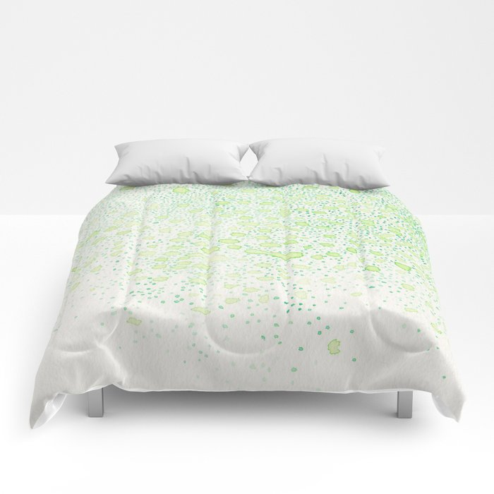 flavor of young leaves Comforters