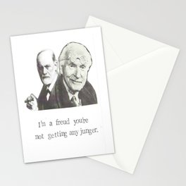 I'm A Freud You're Not Getting Any Junger Stationery Cards