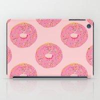 doughnut iPad Cases featuring Doughnut by Inbeeswax
