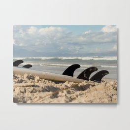 After Surfin´  Metal Print