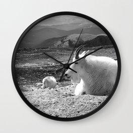 Mountain Goats Wall Clock
