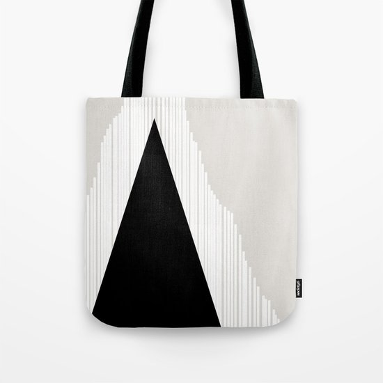 Abstract Mountain Tote Bag