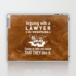 Lawyers favorite thing to do Laptop & iPad Skin