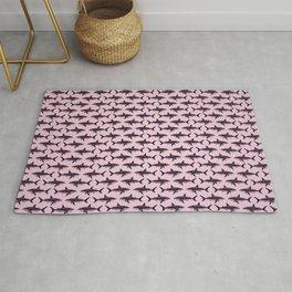 Pattern: Rose-Colored Sharkies ~ (Copyright 2015) Rug