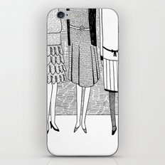 the sunny side of the street iPhone & iPod Skin