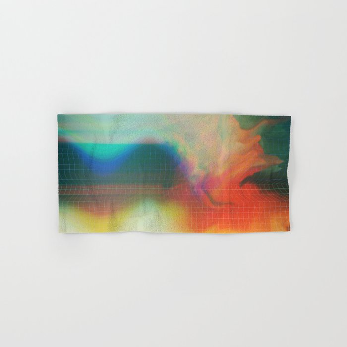 Glitch 01 Hand & Bath Towel