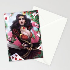 Heart Queen Stationery Cards