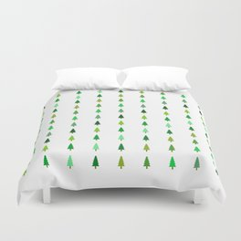 99 trees, none of them a problem Duvet Cover