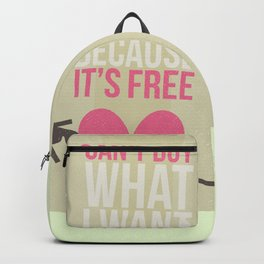 can't buy Backpack