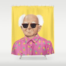 The Israeli Hipster leaders - David Ben Gurion Shower Curtain