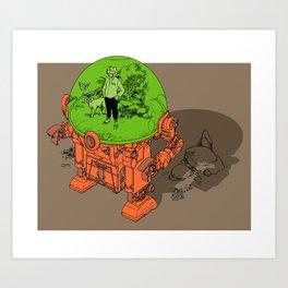 Environment Suit Art Print