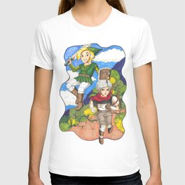 LoZ x Bastion: Day and Night T-shirt