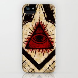 Freemaso Symbolism iPhone Case