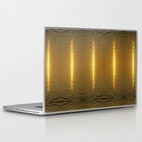 swedish Laptop & iPad Skins featuring Swedish Ripples by LesImagesdeJon