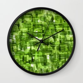 Color Jewels 10E by Kathy Morton Stanion Wall Clock