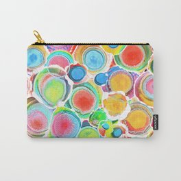 Sunshine on Your Spotty Mind (Alcohol Inks Series 07) Carry-All Pouch