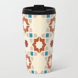 Tiled Geometric Moroccan Pattern Travel Mug