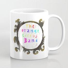 The Orange Circus Band - Logo - Rainbow Coffee Mug