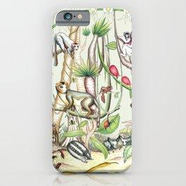 Endemic Species of Madagascar iPhone Case