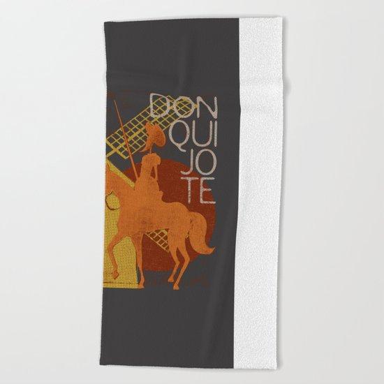 Books Collection: Don Quixote Beach Towel