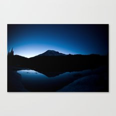 Mt Rainier @ Sunset Canvas Print