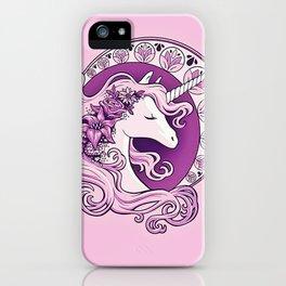beautiful unicorn iPhone Case