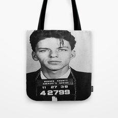 Frank Sinatra Mugshot Tote Bag