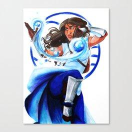 AVATAR: The Last Airbender-Waterbending Canvas Print