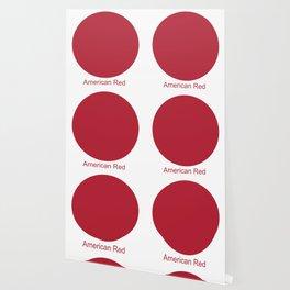 American Red Wallpaper