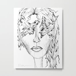They Say Eyes Are Windows To Our Soul Metal Print
