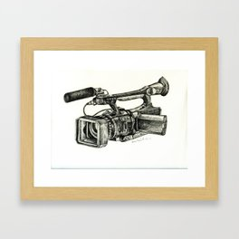 Sony HVR-V1U Framed Art Print