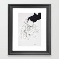 Lovely Vines Framed Art Print