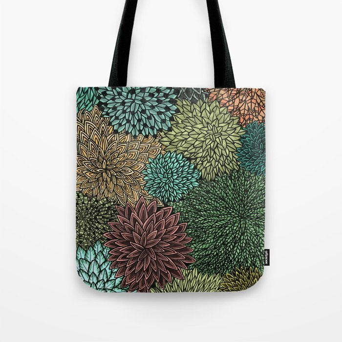 Ink  Pattern No.4 Tote Bag