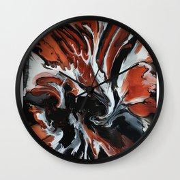 Copper Fox Wall Clock