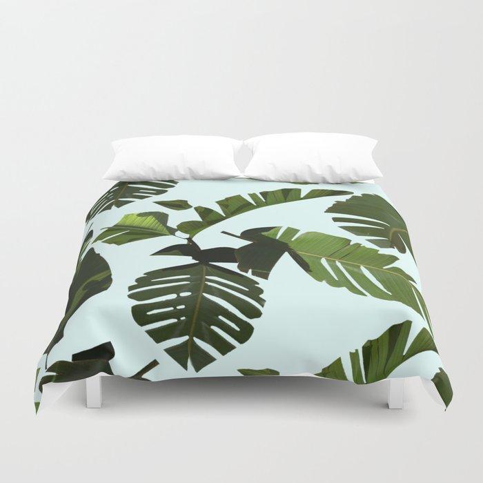 Palm Pattern Duvet Cover