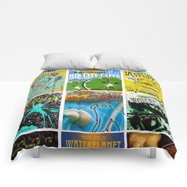 WATERPLANET: GigPosters1 Comforters