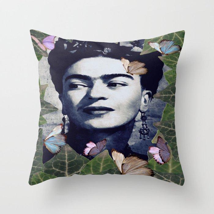 Frida the one Throw Pillow