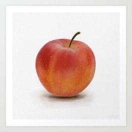 Red Apple Watercolour - Fruit Painting Art Print
