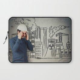 air pollution Laptop Sleeve