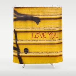 Love You, New York Shower Curtain
