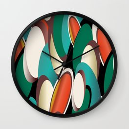 jelly beans allover and over Wall Clock