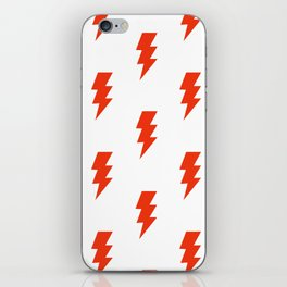 BOLT ((cherry red)) iPhone Skin