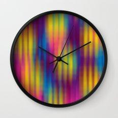 Color Chaos  Wall Clock