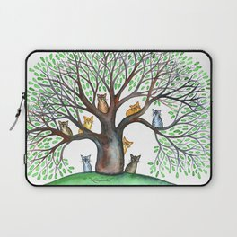 Cheyenne Whimsical Cats in Tree Laptop Sleeve